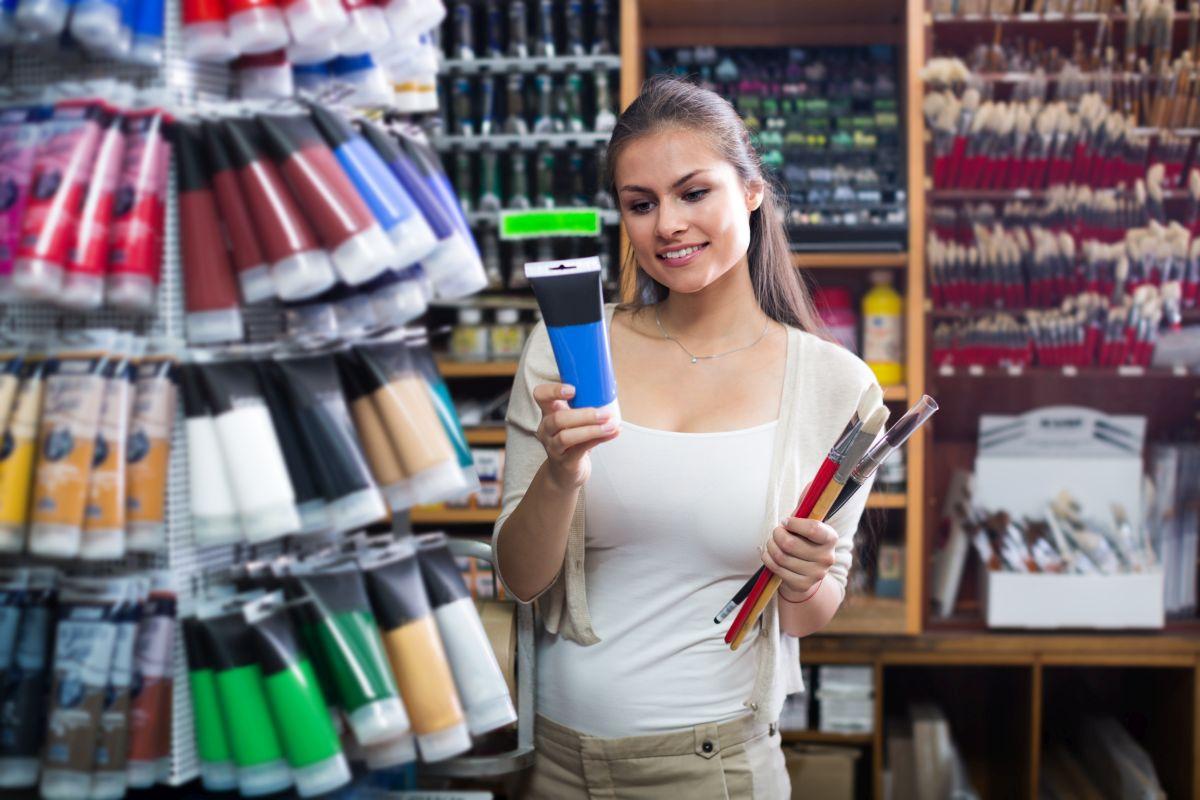 Właściwości farby lateksowej