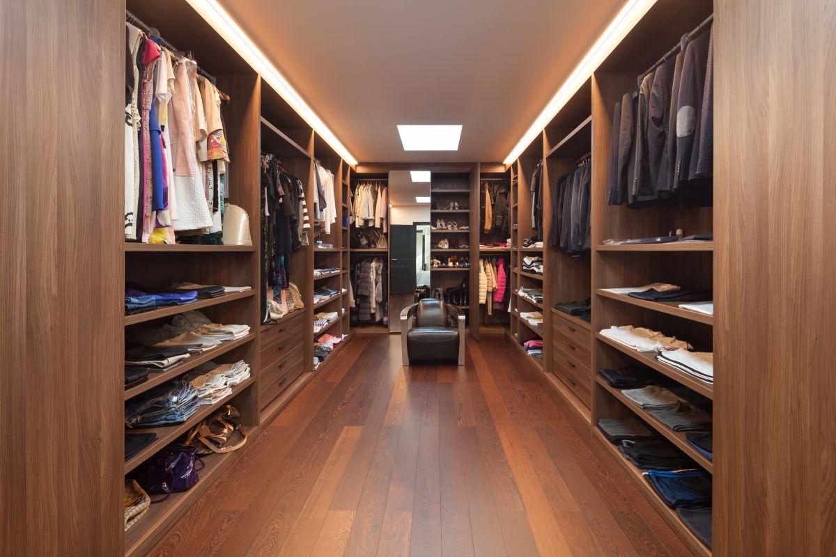 Zagospodaruj pomieszczenie na odzież